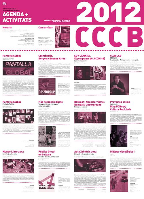 Cartell CCCB Trasera